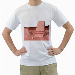 Life On Mars? Men s T Shirt (white)