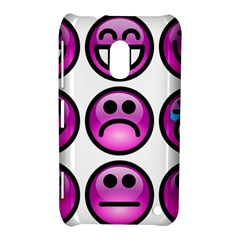 Chronic Pain Emoticons Nokia Lumia 620 Hardshell Case by FunWithFibro
