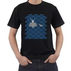 King Of The Sea Men s T Shirt (black)