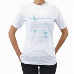 After The Flatline Women s T Shirt (white)  by Contest1861806