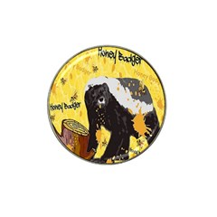 Honeybadgersnack Golf Ball Marker 4 Pack (for Hat Clip) by BlueVelvetDesigns