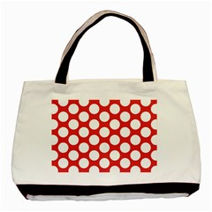 Red Polkadot Classic Tote Bag