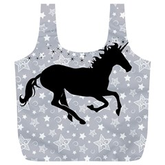Unicorn On Starry Background Reusable Bag (xl) by StuffOrSomething