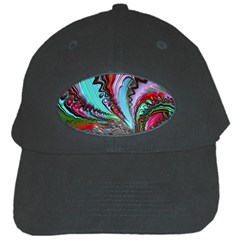 Special Fractal 02 Red Black Baseball Cap by ImpressiveMoments