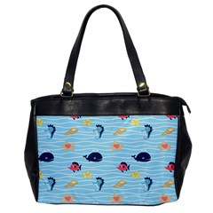 Fun Fish Of The Ocean Oversize Office Handbag (one Side) by StuffOrSomething