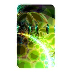 Dawn Of Time, Abstract Lime & Gold Emerge Memory Card Reader (rectangular) by DianeClancy