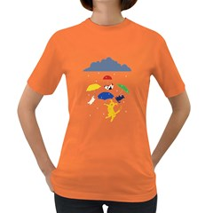 Raining Cats And Dogs Women s T Shirt (colored)