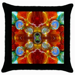 Disabled Prisoners Glory By Saprillika Black Throw Pillow Case