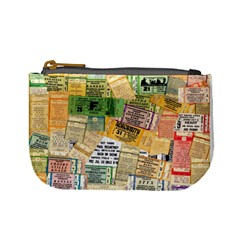 Retro Concert Tickets Coin Change Purse by StuffOrSomething