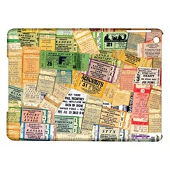 Retro Concert Tickets Apple Ipad Air Hardshell Case by StuffOrSomething