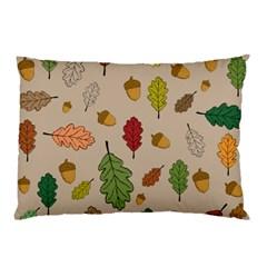 Oak Pillow Case (two Sides)