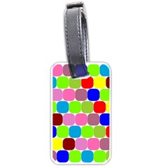 Color Luggage Tag (one Side) by Siebenhuehner