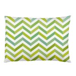 Chevron  Pillow Case (Two Sides) Back