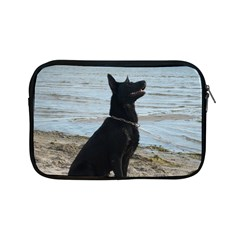Black German Shepherd Apple Ipad Mini Zippered Sleeve by StuffOrSomething
