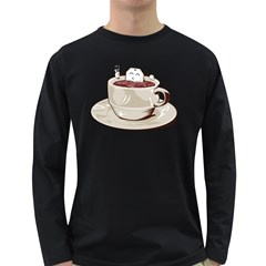 Tea Time Men s Long Sleeve T Shirt (dark Colored) by Contest1753604
