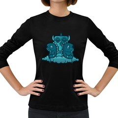 Old Tribe Women s Long Sleeve T Shirt (dark Colored) by Contest1915162