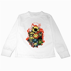 Despicable Avengers Kids Long Sleeve T Shirt by Contest1736614