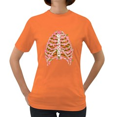 Blossoms Ribs Women s T Shirt (colored)