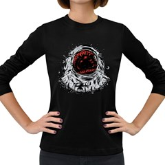 Trouble In The Space Women s Long Sleeve T Shirt (dark Colored) by Contest1753604