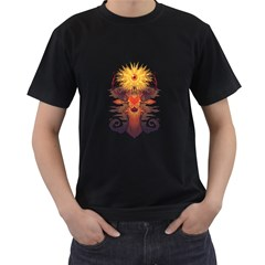 EYEDEER Men s T-shirt (Black) by Contest1920010