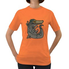Miwitu The Crocodile Women s T Shirt (colored) by Contest1920010