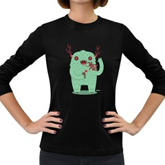 text me! Women s Long Sleeve T-shirt (Dark Colored) by Contest1915162