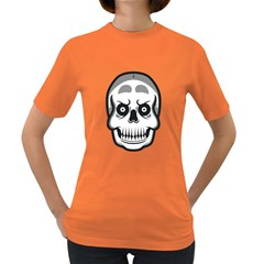 Skull Smile Women s T Shirt (colored) by Contest1915162