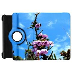 Pink Flower Kindle Fire Hd 7  (1st Gen) Flip 360 Case