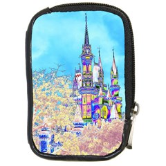 Castle For A Princess Compact Camera Leather Case by rokinronda
