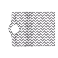 Grey And White Zigzag Kindle Fire Hd 7  (2nd Gen) Flip 360 Case by Zandiepants