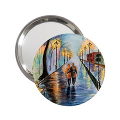 Just The Two Of Us Handbag Mirror (2 25 ) by TonyaButcher