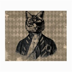 Harlequin Cat Glasses Cloth (small) by StuffOrSomething
