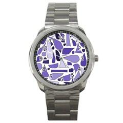 Silly Purples Sport Metal Watch