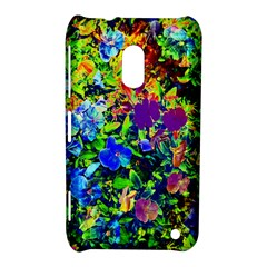 The Neon Garden Nokia Lumia 620 Hardshell Case by rokinronda