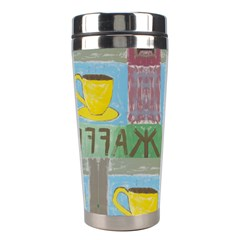 Kaffe Painting Stainless Steel Travel Tumbler by StuffOrSomething