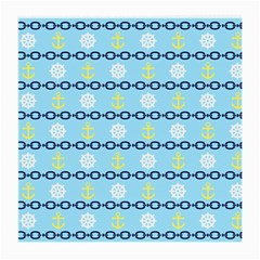 Anchors & Boat Wheels Glasses Cloth (medium) by StuffOrSomething