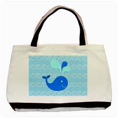 Playing In The Waves Classic Tote Bag
