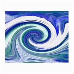 Abstract Waves Glasses Cloth (small) by Colorfulart23