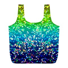 Glitter 4 Reusable Bag (l) by MedusArt