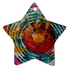 Art Therapy Star Ornament