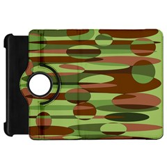 Green And Brown Spheres By Khoncepts Com Kindle Fire Hd 7  (1st Gen) Flip 360 Case by Khoncepts