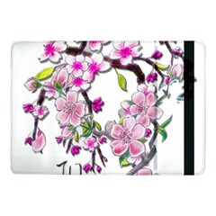 Cherry Bloom Spring Samsung Galaxy Tab Pro 10 1  Flip Case by TheWowFactor