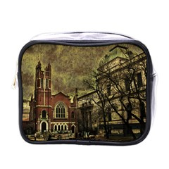 Dark Citiy Mini Travel Toiletry Bag (one Side) by dflcprints