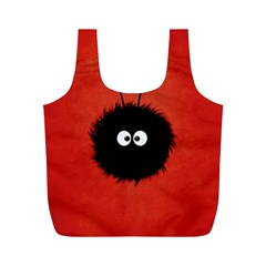 Red Cute Dazzled Bug Reusable Bag (m) by CreaturesStore