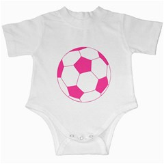 Soccer Ball Pink Infant Bodysuit by Designsbyalex