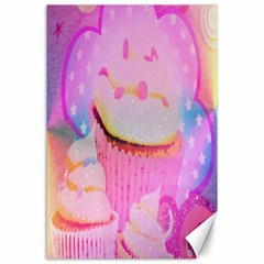 Cupcakes Covered In Sparkly Sugar Canvas 24  X 36  (unframed) by StuffOrSomething