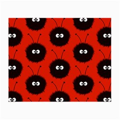 Red Cute Dazzled Bug Pattern Glasses Cloth (small) by CreaturesStore