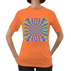 Many Circles Women s T Shirt (colored)