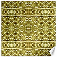Gold Plated Ornament Canvas 20  X 20  (unframed) by dflcprints