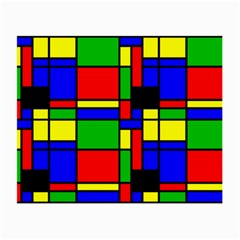 Mondrian Glasses Cloth (small, Two Sided) by Siebenhuehner